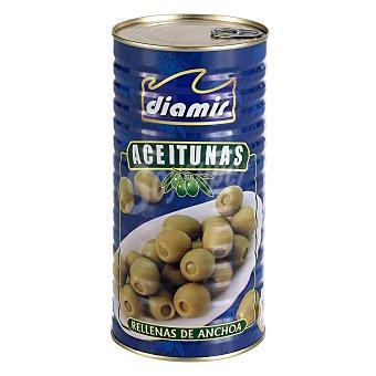 Diamir Aceitunas verdes rellenas de anchoa 600 g