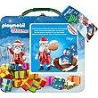 Playmobil Fun Box contiene monedas de chocolate con leche y un juguete Estuche 75 g BIP