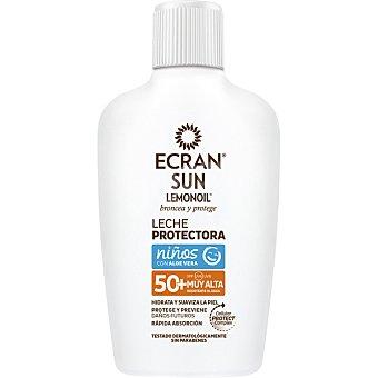 Ecran Lemonoil Leche protectora solar niños con Aloe Vera FP-50 Frasco 200 ml