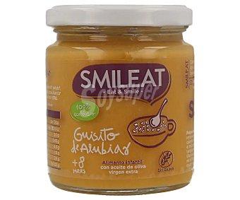Smileat Guisito de alubias 100% ecológico sin gluten desde 8 meses Tarro 230 g