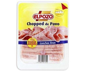 ElPozo Chopped pavo finas lonchas 180 Gramos