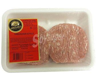ALMERICARNE Burger Meat de pollo 500 Gramos