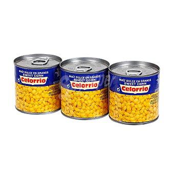 Celorrio Maíz dulce pack 3 latas 150 gr Pack 3 latas 150 gr