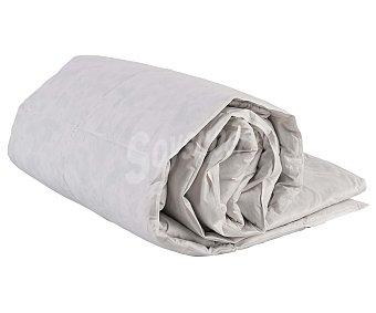 Auchan Relleno nórdico de pluma de pato, 150 centímetros, color blanco, densidad: 375 gramos 1 Unidad