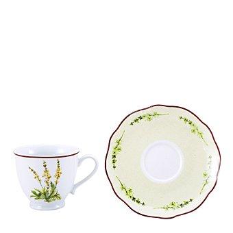 Set de té en porcelana 4 piezas DECORADO Mod. FLOWER LOVE 1 ud