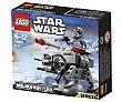 Juguete de construcción microcaza at-at Star Wars Microfighters, 88 piezas, modelo 75075 1 unidad LEGO