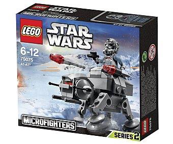 LEGO Juguete de construcción microcaza at-at Star Wars Microfighters, 88 piezas, modelo 75075 1 unidad