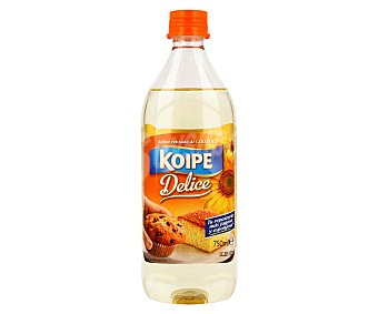 Koipe Aceite refinado de girasol especial repostería 750 mililitros