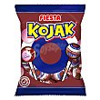 Kojak caramelo de cola relleno de chicle con palo Bolsa 105 g (7 u) Fiesta