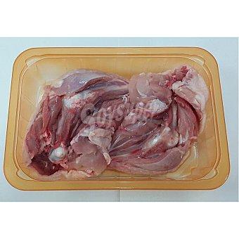 Muslos de pollo abiertos bandeja (peso aprox. ) 735 gr