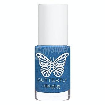 Deliplus Laca uñas Nº 957 azul coleccion butterfly 1 u