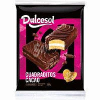 Dulcesol Cuadradito de chocolate 6 unid. 260 gr.