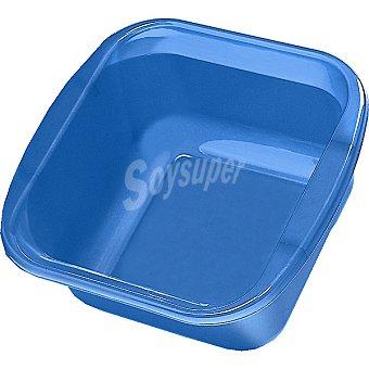 Hipercor Barreño cuadrado en color azul 12 l