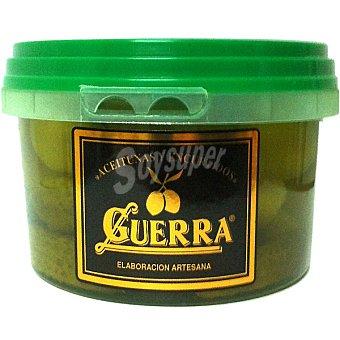Guerra Aceitunas gordal con pepinillo Tarrina 250 g