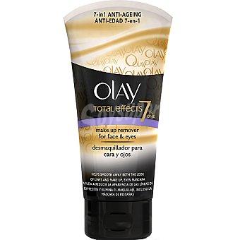 OLAY total effects Desmaquillador anti-edad 7 en 1 para cara y ojos tubo 150 ml Tubo 150 ml