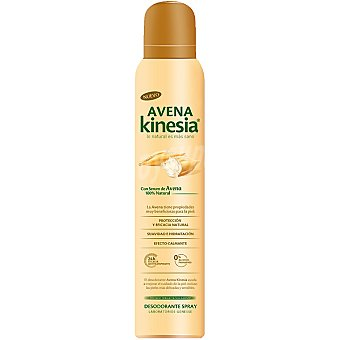 Avena Kinesia Desodorante con serum de avena 100% natural sin alcohol Spray 200 ml