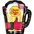 Caramelos duros con palo de sabor tropical bolsa 90 g 6 unidades Chupa Chups