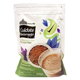 Chocolate Ibarra Cacao cuidate diariamente con fibra de inulina 375 g