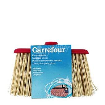 Carrefour Escoba de Exterior Amarilla 1 ud