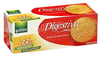 Gullón Galleta integral digestive reducido en grasa Paquete de 400 g