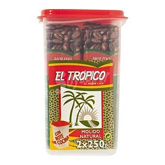 Trópico Café molido mezcla Pack de 2x250 g