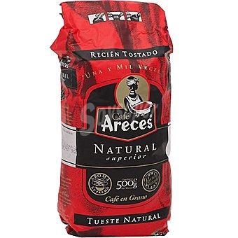 Areces Café natural en grano paquete 500 g