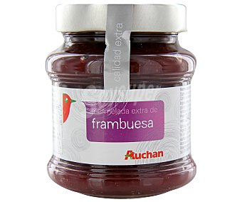 Auchan Mermelada de frambuesa 340 gramos