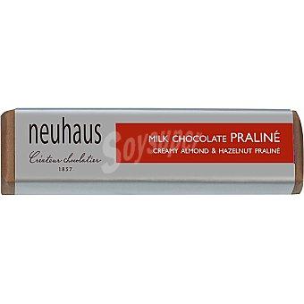 Neuhaus chocolatina con chocolate con leche y praliné Envase 45 g
