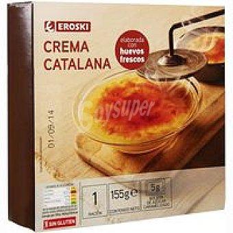 Eroski Crema catalana Tarrina 150 g