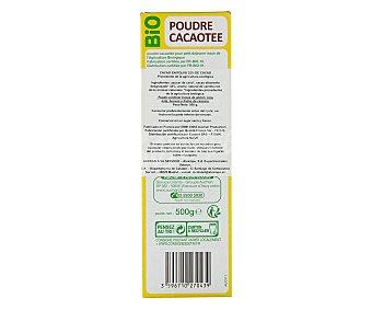 Auchan Cacao en polvo 32% cacao Biológico 500 gramos
