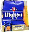 Cerveza sin alcohol Pack 6x25 cl Mahou
