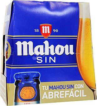 Mahou Cerveza sin alcohol Pack 6x25 cl