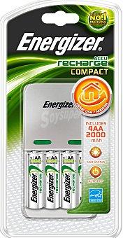 Energizer Cargador Maxi aa+aaa, incluye 4 pilas AA 1 Unidad