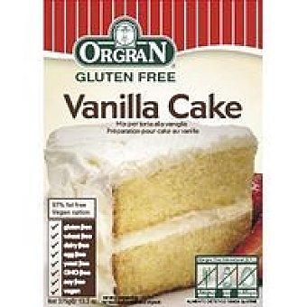 Orgran Vanilla Cake mix Caja 375 g