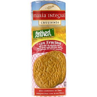 Santiveri Galletas maria integral crujientes bolsa 140 g Bolsa 140 g