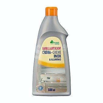 Bosque Verde Limpiador acero inoxidable y aluminio (crema abrillantadora) Botella 500 ml