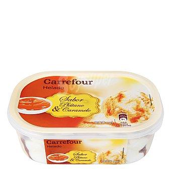 Carrefour Helado banana y caramelo 900 g