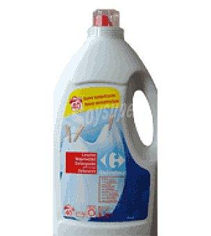 Carrefour Detergente líquido regular 3 litros 40 l