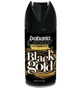 Babaria Desodorante Spray Black Gold Men 150 ml