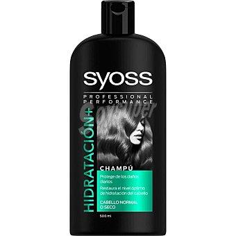 Syoss Champú Hidratación+ para cabello normal o seco Frasco 500 ml
