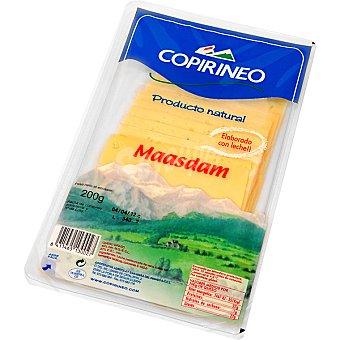 Copirineo Queso maasdam en lonchas Bandeja 200 g