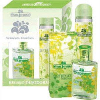 EAU JEUNE Colonia Fraiche para mujer Frasco 75 ml + Desodorant