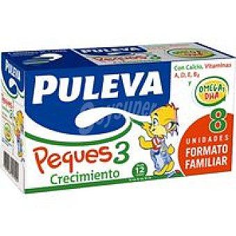 PULEVA PEQUES Pack crecimiento Pack 8x1 litro