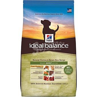 Hill's Ideal Balance Pienso para perros adultos pequeños, medianos y grandes Hills Ideal Balance pollo y arroz integral 2 Kg