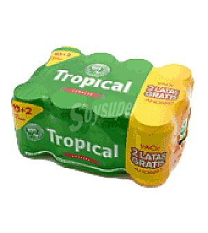 Tropical Cerveza Pack de 12 latas de 33 cl