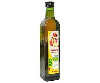 Auchan Vinagre de Sidra Ecológico Botella de 500 ml