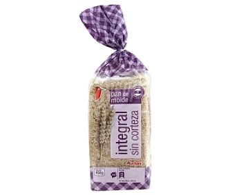 Auchan Pan de molde integral sin corteza 450 Gramos