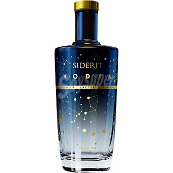 SIDERIT Lactee Vodka premium botella 70 cl Botella 70 cl