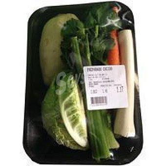 Preparado para cocido vegetal Bandeja 800 g