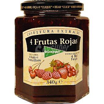 El Corte Inglés Confitura extra 4 frutas rojas Frasco 340 g